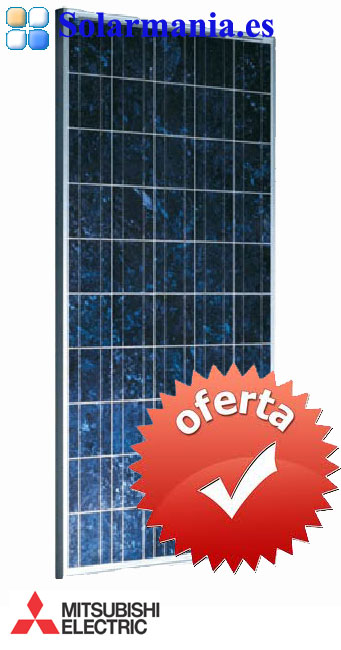 placa solar mitsubishi electric 225 w 24 v tj 225ga6. Black Bedroom Furniture Sets. Home Design Ideas