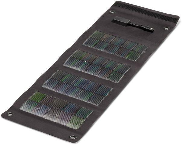 Panel solar 6 5wp flexible y plegable sunload negro for Panel solar pequeno