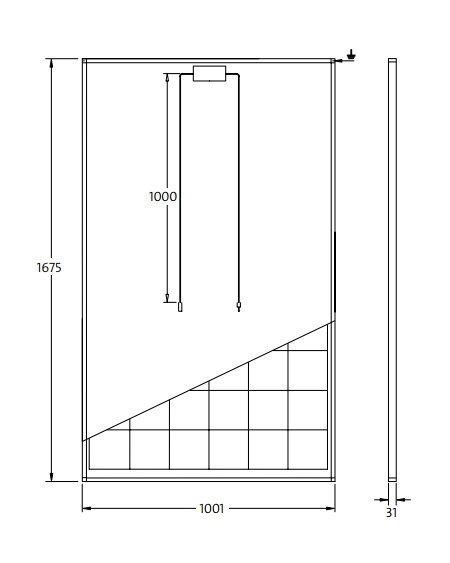 panel solar 250w policristalino solarworld sw250 solarmania. Black Bedroom Furniture Sets. Home Design Ideas